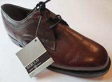 Barclay Men's Size 11 Brown Leather Shoes Lace Up Oxfords