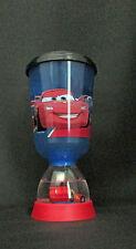 Disney Pixar Cars Lightning McQueen World Grand Prix Pedestal Covered Cup