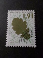 FRANCE, 1994 timbre PREOBLITERE 232, FEUILLES ARBRES, neuf**, VF MNH STAMP, LEAF