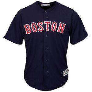 MLB Baseball Jersey Boston Red Sox Navy Alternate Cool Base Majestic Jersey