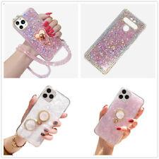 For LG Stylo 6/5/5X/4+/iPhone Bling Diamond Glitter Cryatal Soft tpu Case Cover