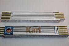 Zollstock mit Namen  KARL    Lasergravur 2 Meter Handwerkerqualität
