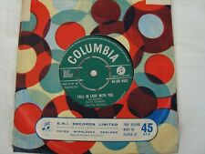 Cliff Richard - Fall in Love with You / Willie and the Hand Jive - Columbia 4431