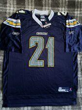 New Ladainian Tomlinson San Diego Chargers Reebok NFL Equipment Jersey Size XL