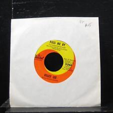 """Peggy Lee Pass Me By / That's What It Takes 7"""" VG 5346 Vinyl 45"""
