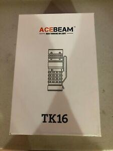 AceBeam TK16 CREE XPG 3 Copper EDC 1800 Lumens Exclusive Flashlight