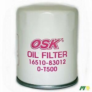 OSK Oil Filter suit Z172 for Suzuki Grand Vitara Sierra Holden Drover EFI