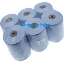 48 rolls(8 PACKS) x GRADE A* Blue Centrefeed Embossed 2ply Wiper Paper Towel