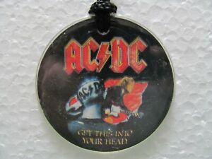 AC/DC  Get this into your head - Collana - Ciondolo - pendente  Vintage 1991