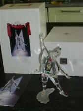 SWAROVSKI CRYSTAL 1999 SIGNED 'PIERROT' FIGURINE FROM THE MASQUERADE SERIES