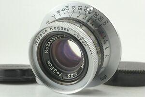 [Rare! NMINT+ ] Black Belt model NIKON W-Nikkor 35mm 3.5cm F/2.5 Leica L39 Japan