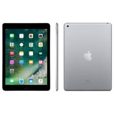 Apple iPad 5th Gen. A1823 32GB 9.7 Tablet WiFi  4G Unlocked-Space Gray-Excellent