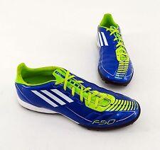 Adidas F50 adiPRENE Fußballschuhe Outdoor Synthetik blau Gr. 41 1/3