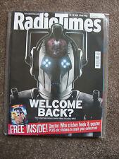 Doctor Who cover - 'Radio Times' - 'Rise of the Cybermen' - 13-19 May 2006