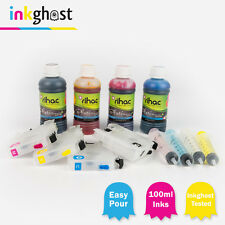 Refillable ink Cartridges & Premium rihac inks compatible with Brother MFC-J6520