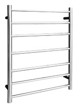 Straight Round Ladder Towel Rail