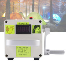 220V Kleine Handkurbel Generator Neue Tragbare Stromversorgung Notfall Ladegeel