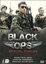 BLACK OPS SPECIAL FORCES Assault Al Qaeda Operation Thundebolt Operation 3 DVDS
