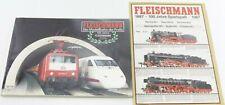 Fleischmann Katalog 1987/88 100 Jahre Fleischmann + Broschüre
