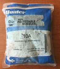 HUNTER 10A PRO ADJUSTABLE NOZZLES  - 25 PACK  - NEW