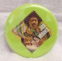 Disc Golf Bottle Opener Key Chain! Jimi Hendrix! PERFECT zipper pull for bag!