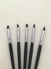 5 Pieces Dental Lab Adhesive Composite Resin Porcelain Tooth Silicone Brush Pen