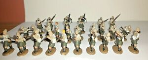 PAINTED SOLDIERS 1/72 20mm - BRITISH INFANTRY - COLONIAL WARS x 26 STRELETS