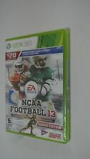 BRAND NEW NCAA Football 13 -- Bonus Edition (Microsoft Xbox 360, 2012)
