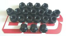 BBS ULTRA LIGHTWEIGHT  BLACK ALLOY LUG NUTS {20} FOR PORSCHE WHEELS 14X1.5