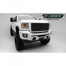15-18 GMC SIERRA HD T-REX STEALTH METAL SERIES BLACK 1-PIECE GRILLE.