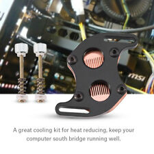 South Bridge Water Cooling Block Liquid Cooler Chipset Heatsink Copper Base BT