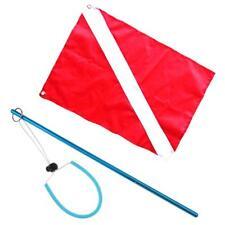 Bandera con Puntero de Buceo Equipo de Seguridad para Deportes Acuáticos