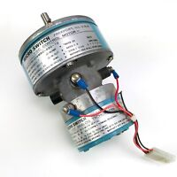 NEW HONEYWELL MICRO SWITCH 33VM82-020-10 DC CONTROL MOTOR WITH ANALOG TACHOMETER
