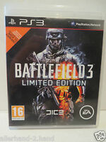 PlayStation3 PS 3 # Spiel BATTLEFIELD 3 USK 18 Limited Edition Blu-ray Disc PS3