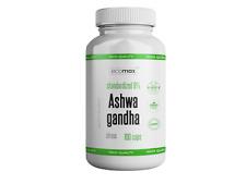 ASHWAGANDHA 100 Kapseln 9% Withanoliden Hochdosiert Withania Somnifera