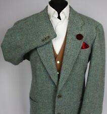 Tweed Hugo Boss Blazer Jacket Blue Wool Designer 46R SUPERB COLOUR FABRIC 2528