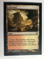 Mtg Magic the Gathering Zendikar Arid Mesa