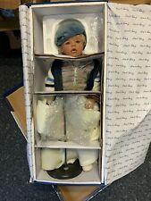 Monika Levenig Künstlerpuppe Porzellan Puppe 78 cm. Top Zustand