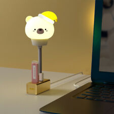 USB smart remote control lamp bear rabbit cartoon night light SMD LED Bulb