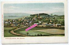 Postkarte um 1915 : Friedland bei Breslau in Schlesien