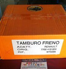 RENAULT CLIO RENAULT 11 19 SUPER 5 TWINGO TAMBURI FRENO BRAKE DRUMS DIAM 180