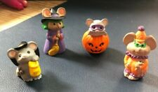 Hallmark Merry Miniatures Halloween Lot 4 pieces