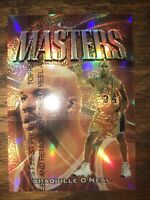 1997-98 Finest Masters Refractors #217/M50 Shaquille O'Neal with Protector Shaq