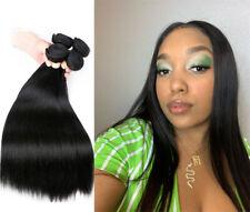 Peruvian Straight Human Hair Extension 100% Remy Hair 4 Bundles/200G Weave weft