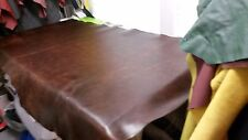 Italian Half Leather Hide Colour Brown Distressed Pull UP (Thick)