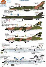 Wolfpak decals 72-093 Jammin Sabre b-1b LANCER b-66 Douglas Boeing Bomber Decalcomanie