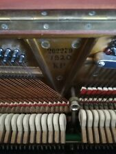 More details for brown, wooden, steinway & sons pianola with extra music rolls
