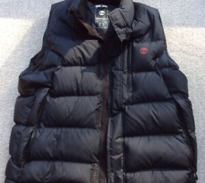 Timberland Mens Gilet Navy Used Size XL