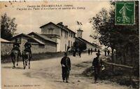 CPA  Camp de Chambaran (Isére) - Facade du Parc d'Artillerie et sortie (584051)