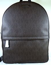 MICHAEL Michael Kors Jet Set Mens North South Signature Brown Backpack